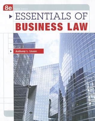 essentials of business books essentials of business book by anthony liuzzo 4
