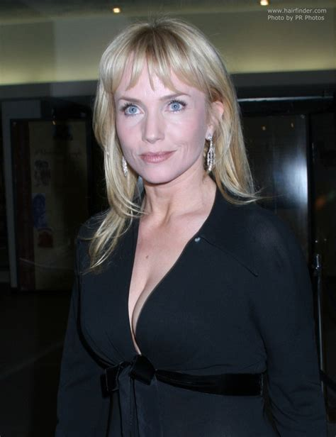 bang yes or noo for older woman with bob cut rebecca de mornay with long hair and bangs that fall just