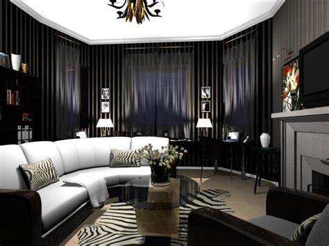 Art Deco Living Rooms | creating an art deco living room