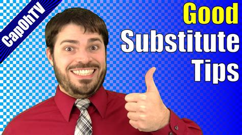 7 Tips On Being A Substitute how to be a substitute tips for