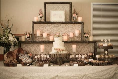 how to create a rustic dessert table for your barn wedding rustic dessert table rustic wedding dessert table