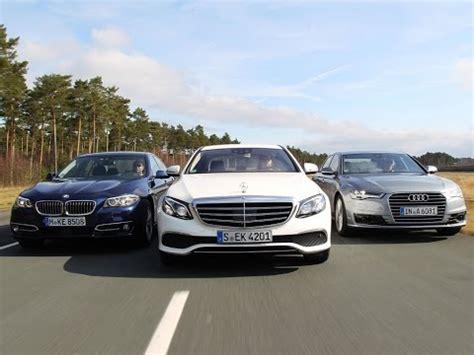 Audi A6 Vs Bmw 5 by Mercedes E Class Vs Audi A6 Vs Bmw 5 Series