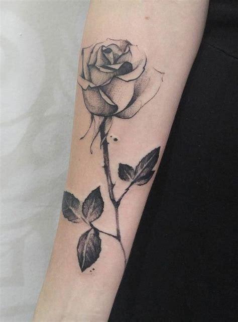 long pattern tattoo 34 best purple long stem rose tattoo images on pinterest