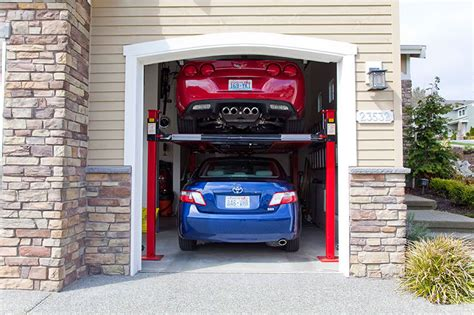Car Garage Lift by Car Lift Garage 4 Post Car Lift