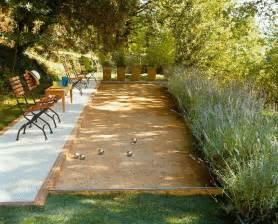 backyard bocce ball court dream casa pinterest