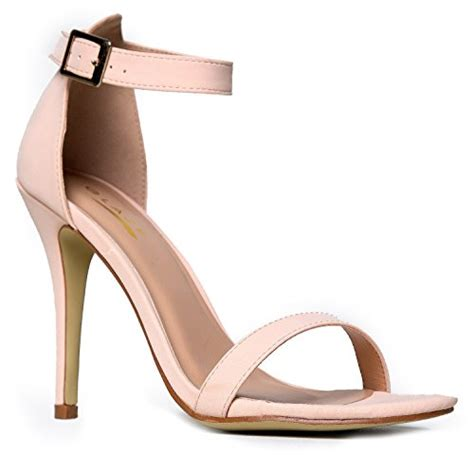 Strappy Comfortable Sandals by Womens Ankle High Heels Dress Wedding Heeled