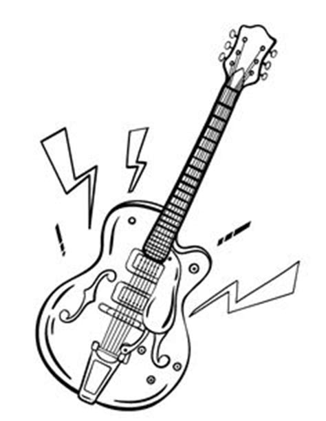 guitar coloring pages pdf free printable coloring page for your kids page 35