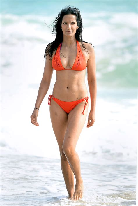 celebrities over 50 in bathing suits hot celebs over 40 in swimsuits top chef host padma