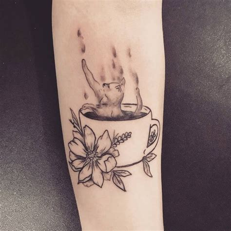 coffee mug tattoo best 25 coffee tattoos ideas on