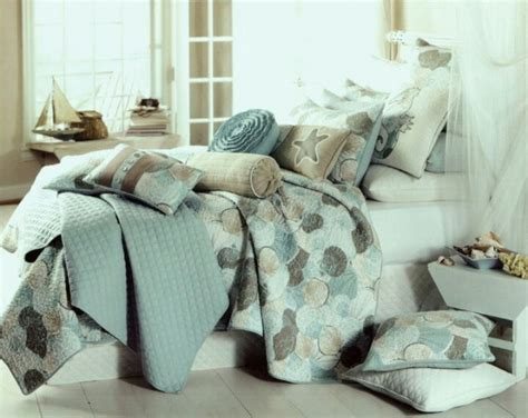 seashell bedding tropical seashell quilt bedding linens pinterest