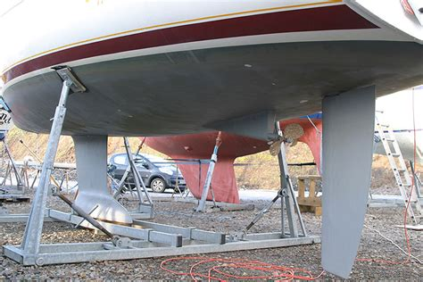 sailboats with twin rudders interesting sailboats what rudder is best for cruising