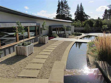 Zen Garden Design by Landscape Design Cotswolds Contemporary Landscape Design