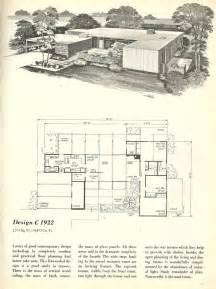 Mid Century House Plans by Vintage House Plans 1960s Homes Mid Century Homes Mid