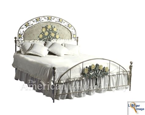 iron beds the american iron bed co yellow roses iron bed