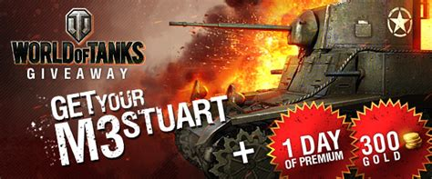 World Of Tanks Giveaways - world of tanks m3 stuart giveaway mmobomb com