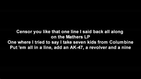 eminem rap god lyrics eminem rap god lyrics hq youtube