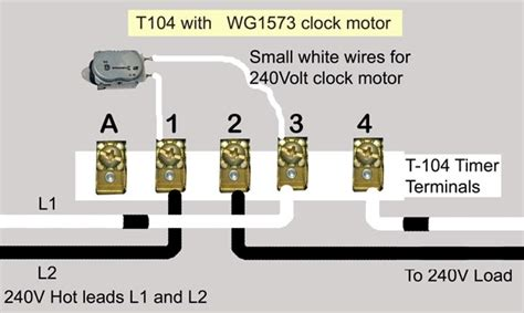 intermatic timer t101 wiring diagram intermatic timer