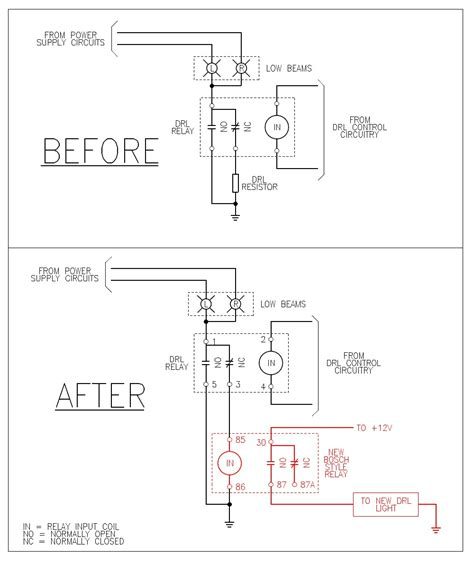 daytime running lights wiring diagram wiring diagram
