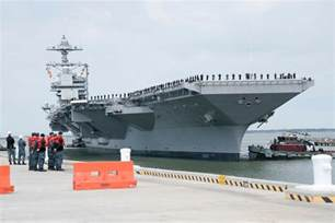 future uss gerald r ford completes successful builder s