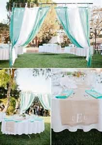 Backyard Wedding Entrance Teal Weddings Teal And Burlap On