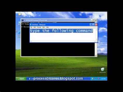 resetting windows xp rearm or reset windows xp 30 days trial period youtube