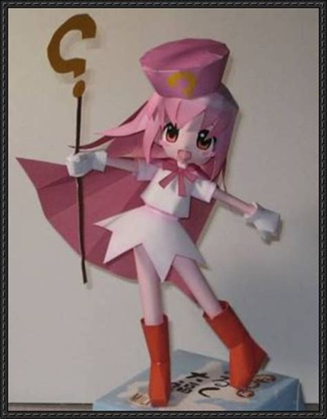 Anime Paper Crafts - papercraftsquare new paper model anime papercraft