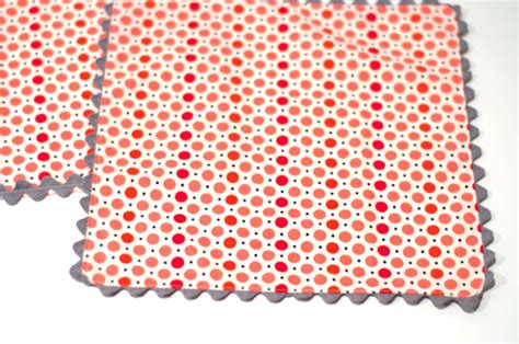 How To Sew Rick Rack Into A Seam aesthetic nest sewing rickrack place mats and napkins