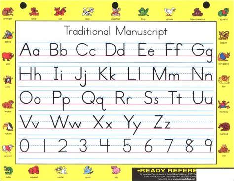 printable alphabet manuscript chart manuscript alphabet with arrows images