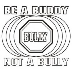 No Bullying Coloring Pages be a buddy not a bully coloring pages coloring pages