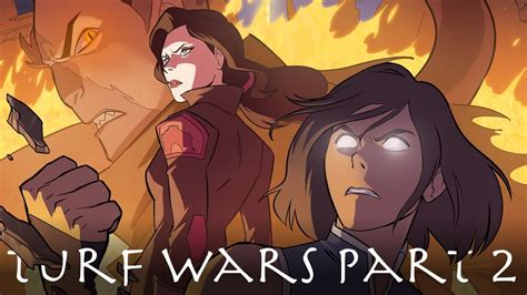 the legend of korra turf wars part two books legend of korra turf wars comic cover 2 analysis