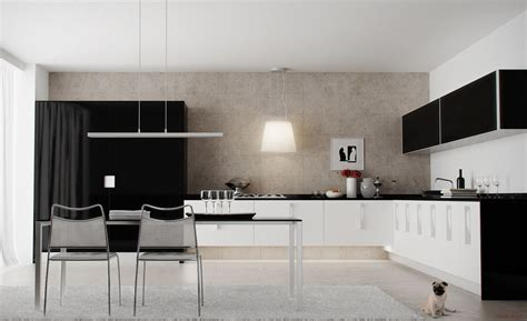 Black And White Kitchen Rug Black And White Kitchens And Their Elements