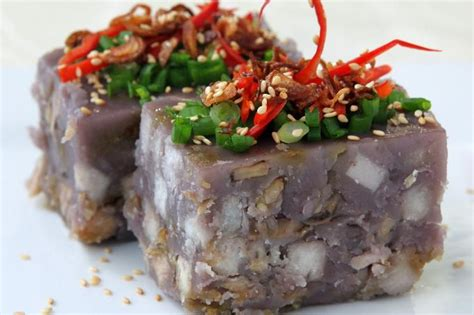 new year yam cake recipe hed chef steamed yam cake hed chef news the new