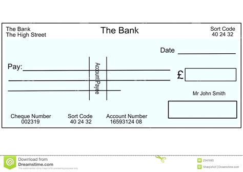 Template Mock Cheque Template Mock Cheque Template