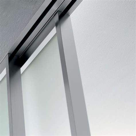 binario per ante scorrevoli a soffitto mazzoli glass doors doors model mitika aluminum glass
