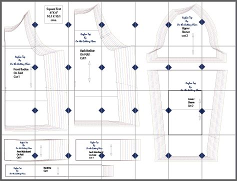 best free print to pdf free sewing pattern sleeve raglan top on the