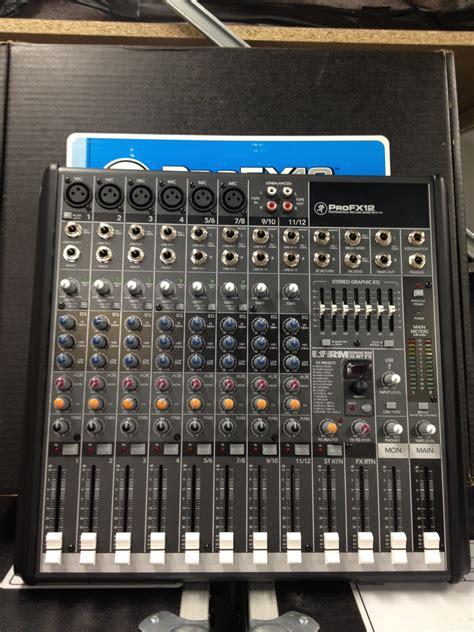 Mixer Mackie Profx12 mackie profx12 image 443659 audiofanzine