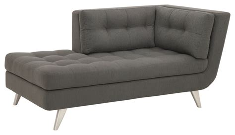 contemporary chaise lounge indoor ava chaise lounge intuition smoke contemporary indoor