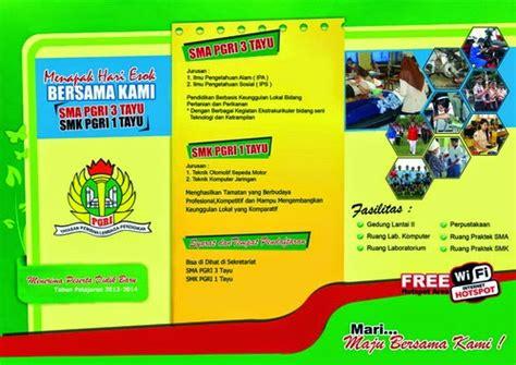 cara membuat brosur antar jemput sekolah 7 contoh brosur sekolah paling menarik