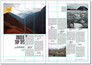 magazine layout grid grid system research ivylai