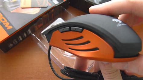 Mouse Gaming 200m Black Orange 200m gaming mouse unboxing