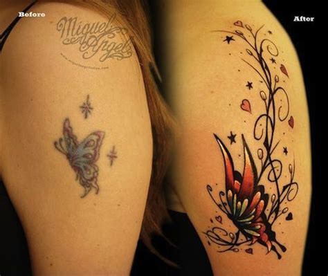 tattoo designs to cover old tattoos butterfly cover up tattoos egodesigns