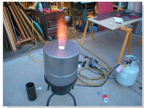 backyard steel furnace my adventures in backyard metal casting began in 2009 when