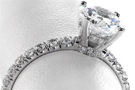 god smple ring cut micro pave jewelers