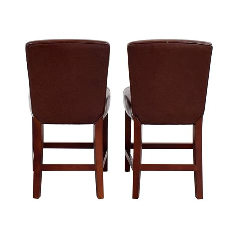Crate And Barrel Leather Bar Stools by 80 Calligaris Calligaris Boheme Black Leather Bar