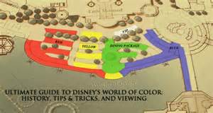 world of color viewing areas ultimate guide to disney s world of color history tips