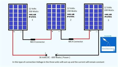 solar panel connection diagram wiring diagram with