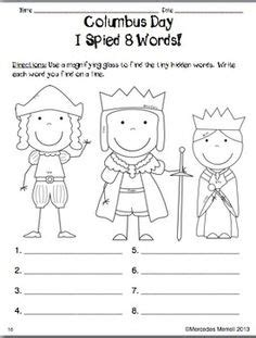 christopher columbus biography for first grade christopher columbus columbus day pinterest