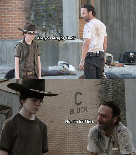 Crying Rick Meme - the walking dead 23 of the funniest rick carl dad