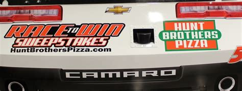 Hunt Brothers Pizza Sweepstakes - hunt brothers 174 pizza announces new race to win sweepstakes kevin harvick