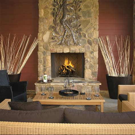 wre6000 outdoor wood burning fireplace by superior